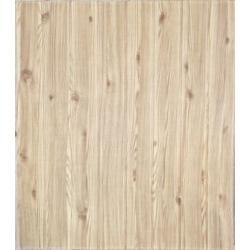 3D самозалепващ стикер Wood grain, бежов