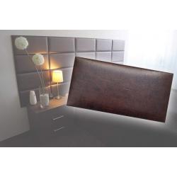 !!!СУПЕР ЦЕНА!!! Декоративен панел от изкуствена кожа 50х25cm 80226 КАФЯВ
