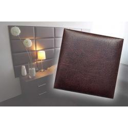 !!!СУПЕР ЦЕНА!!! Декоративен панел от изкуствена кожа 50х50cm 80226 КАФЯВ