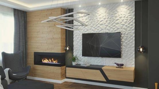 снимка на модел 3d растителен панел Diamond